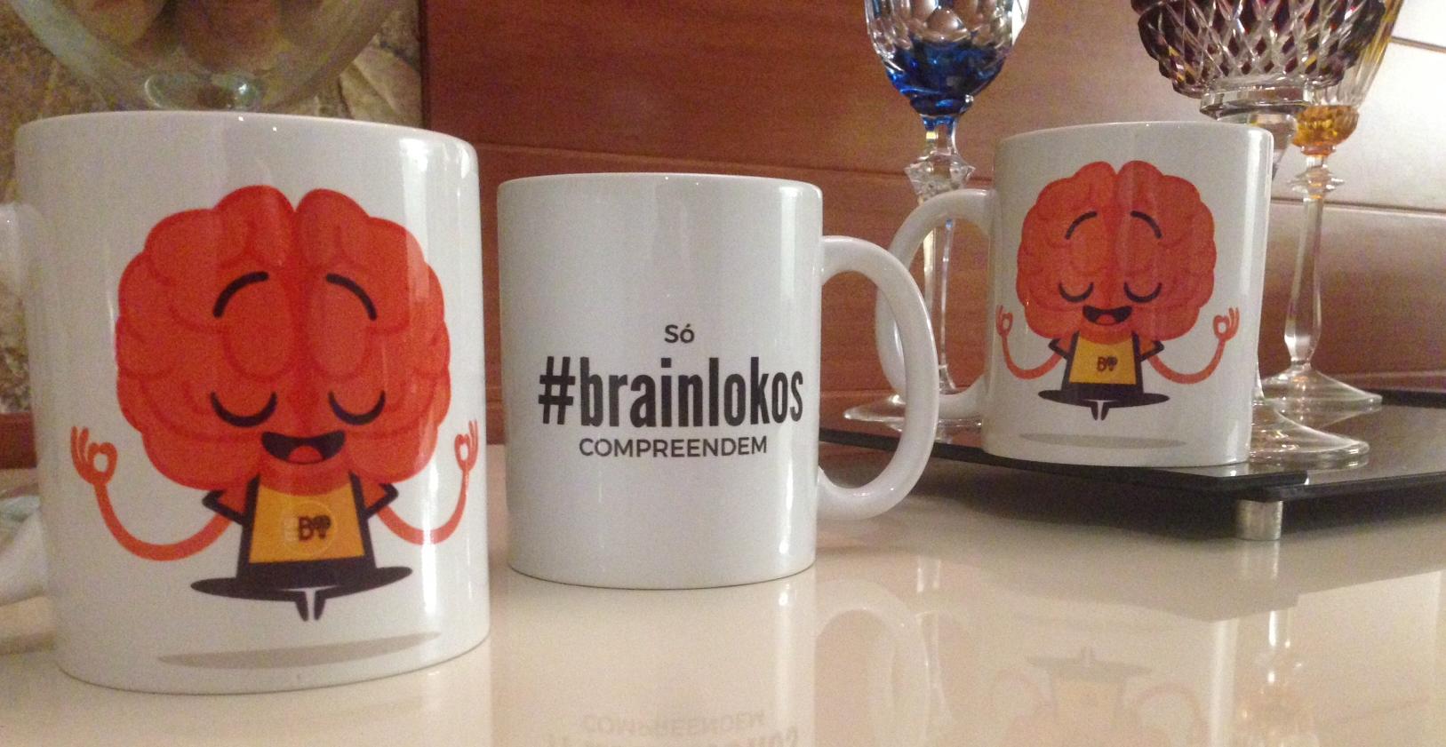 Canecas #Brainlokas